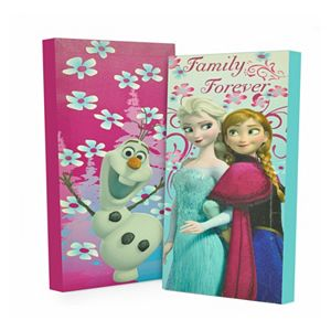 Disney's Frozen 2-pk. Anna, Elsa and Olaf Glow-in-the-Dark Wall Art