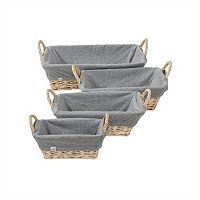 Burt's Bees Baby Rectangular Organic Storage Basket Liners