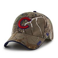 Adult '47 Brand Chicago Cubs Frost Realtree Camouflage Adjustable Cap