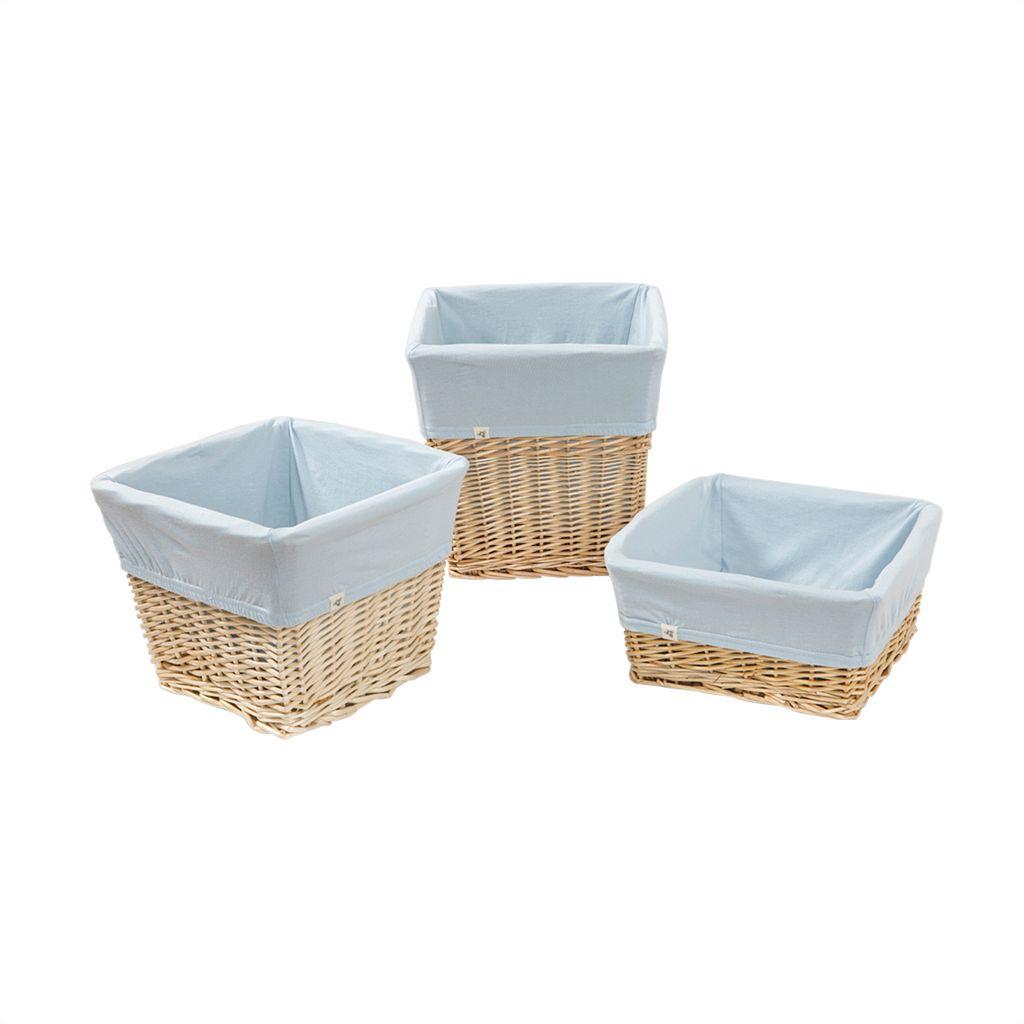 Burt's Bees Baby Square Organic Storage Basket Liners