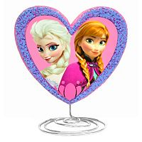 Disney's Frozen Anna & Elsa Heart Table Lamp