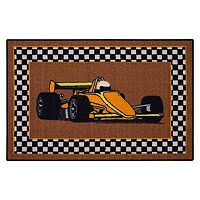 Brumlow Mills Finish Line Racing Rug - 2'6'' x 3'10''