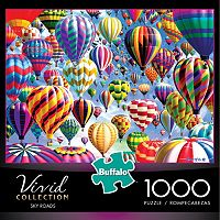 Buffalo Games 1000 pc Vivid Collection Sky Roads Jigsaw Puzzle