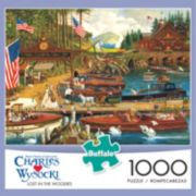 Buffalo Games 1000-pc. Charles Wysocki Lost In The Woodies Jigsaw Puzzle