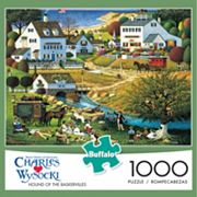 Buffalo Games 1000 pc Charles Wysocki Hound Of The Baskervilles Jigsaw Puzzle