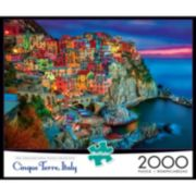 Buffalo Games 2000-pc. Cinque Terre Jigsaw Puzzle