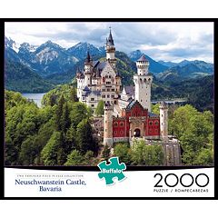 Buffalo Games 2000-pc. Neuschwantstein Castle Jigsaw Puzzle