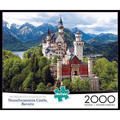 Buffalo Games 2000-pc. Neuschwantstein Castle Jigsaw Puzzle
