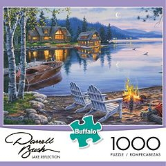 Buffalo Games 1000 pc Darrell Bush Lake Reflection Puzzle