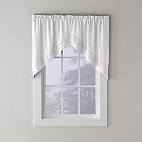 Saturday Knight, Ltd. Holden Swag Kitchen Window Curtain Set - 57'' x 30''