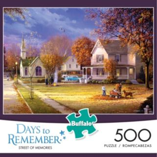 Buffalo Games 500-pc. Days To Remember Street Of Memories Jigsaw Puzzle