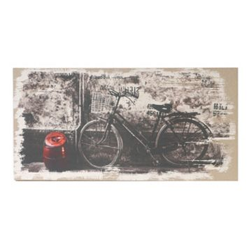 Antique Bicycle Wood Wall Decor