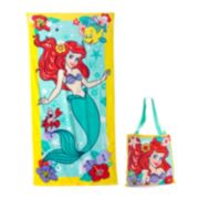 Disney's The Little Mermaid Ariel 2-pc. Beach Towel & Tote Set by Jumping Beans