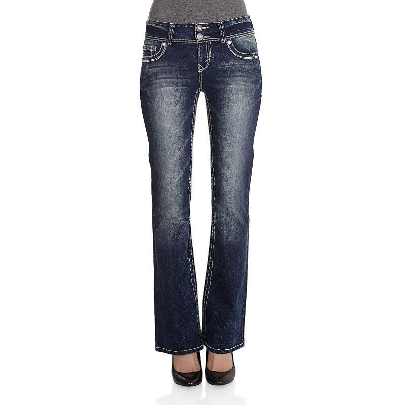Wallflower Curvy Bootcut Jeans - Juniors