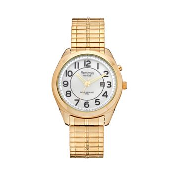 Armitron Men's Stainless Steel Expansion Watch - 20/4981WTPG