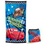 Disney / Pixar Cars 2-pc. Beach Towel & Drawstring Bag Set by Jumping Beans