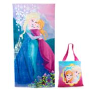 Disney's Frozen 2-pc. Beach Towel & Tote Set by Jumping Beans