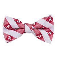 Alabama Crimson Tide Check Woven Bow Tie