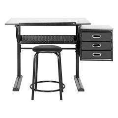 Safavieh Harvard Writing Desk & Stool Set