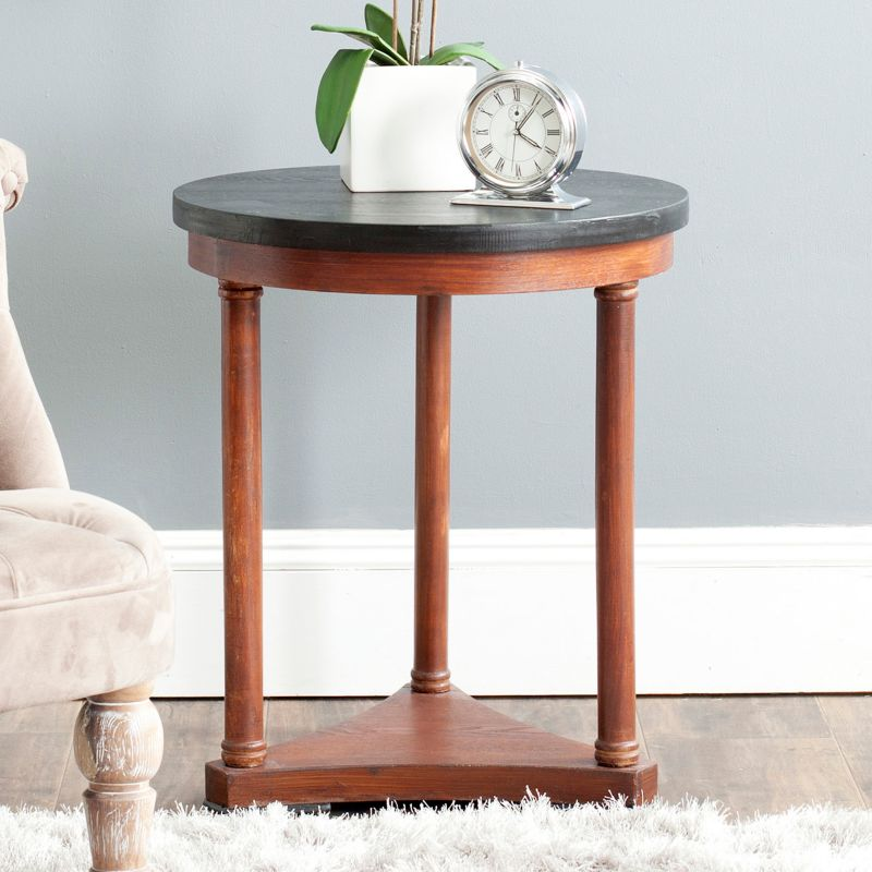 Safavieh Huxley End Table, Brown