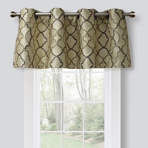 Spencer Club Lattice Window Valance 54 X 16 - spencer home decor curtains