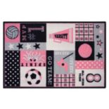 Brumlow Mills Game Time Sports Rug - 2'6'' x 3'10''