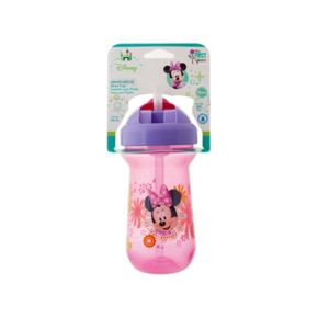 Disney Minnie Mouse Flip-Top Straw Cup