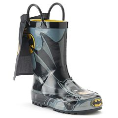 Western Chief Batman Everlasting Toddler Boys' Rain Boots
