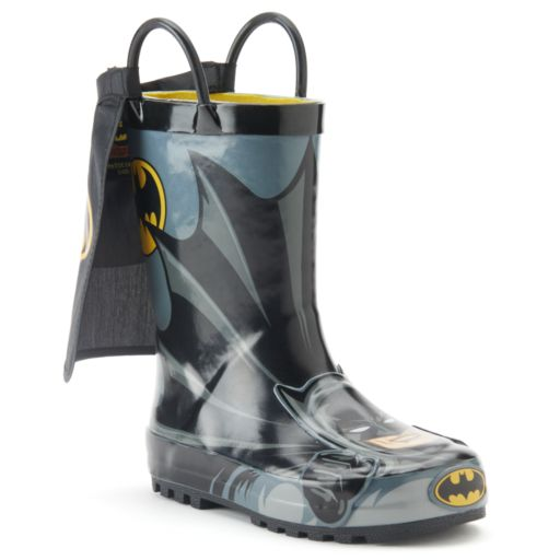 Western Chief Batman Everlasting Toddler Boys' Rain Boots