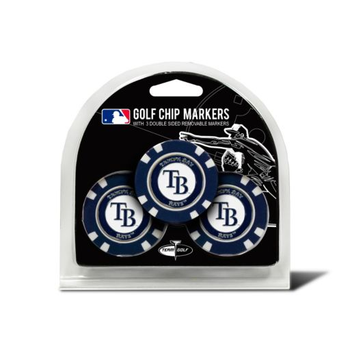 Team Golf Tampa Bay Rays 3-pack Poker Chip Ball Markers