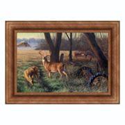 Reflective Art ''End of Harvest'' Framed Canvas Wall Art