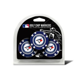 Team Golf Toronto Blue Jays 3-pack Poker Chip Ball Markers