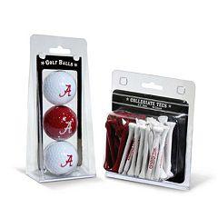 Team Golf Alabama Crimson Tide Golf Ball & Tees Set