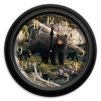 Reflective Art ''The Den Mother'' Wall Clock