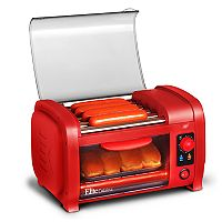 Elite Cuisine Hot Dog Roller & Toaster Oven