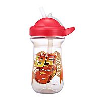 Disney / Pixar Cars Lightning McQueen Flip-Top Straw Cup