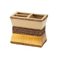 Avanti Braided Medallion Toothbrush Holder
