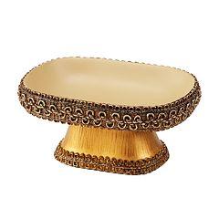 Avanti Braided Medallion Soap Dish
