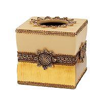 Avanti Braided Medallion Tissue Box Cover