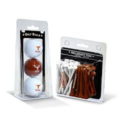 Team Golf Texas Longhorns Golf Ball & Tees Set
