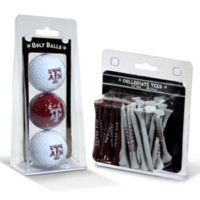 Team Golf Texas A&M Aggies Golf Ball & Tees Set