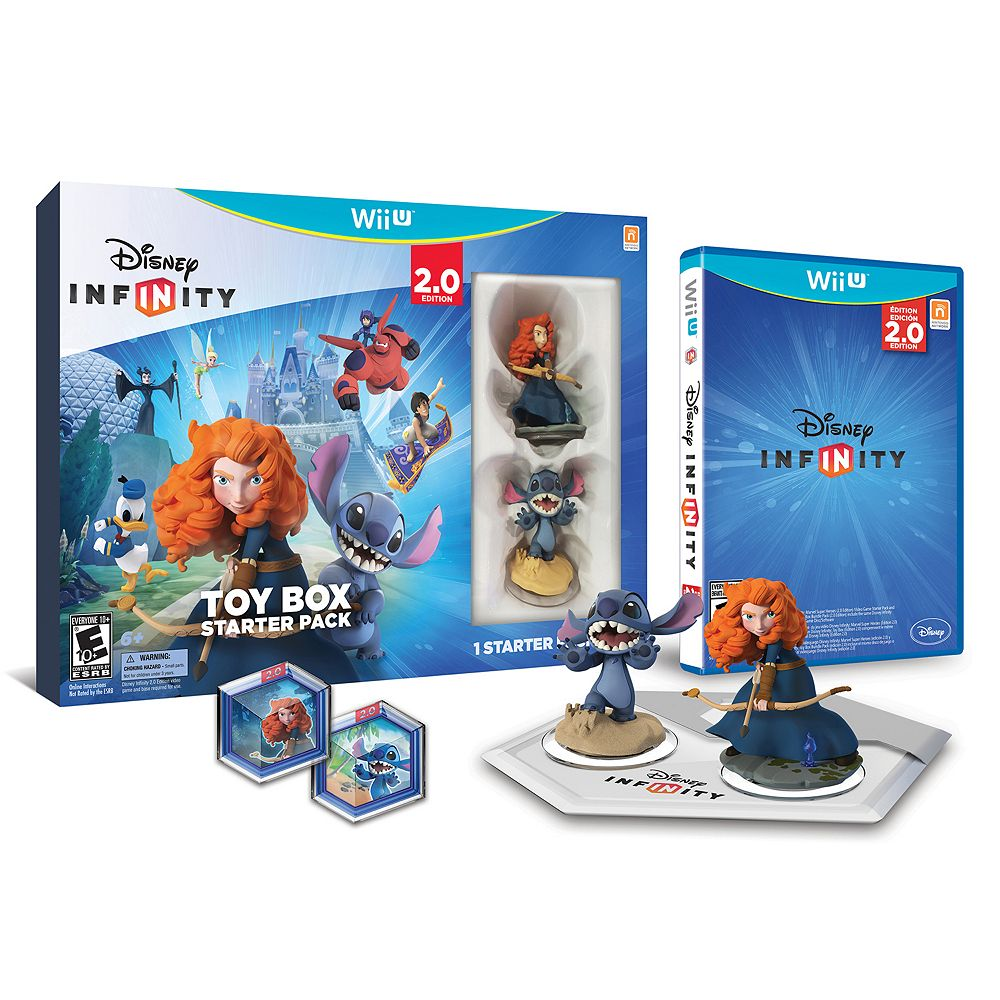 Disney Infinity: Toy Box 2.0 Edition Starter Pack for Wii U