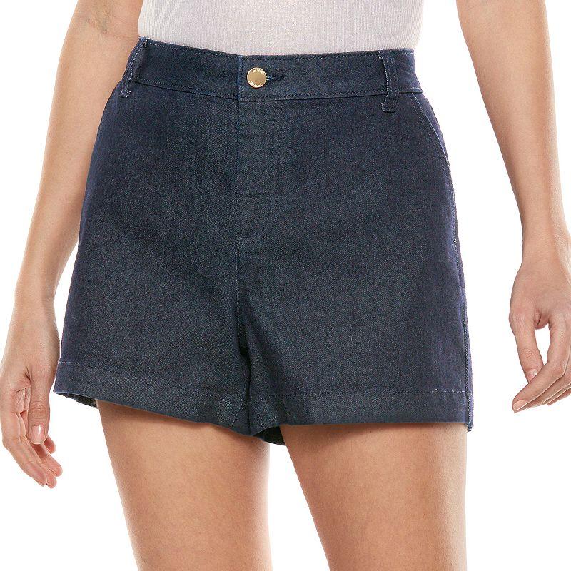 Jennifer Lopez Trouser Jean Shorts - Women's