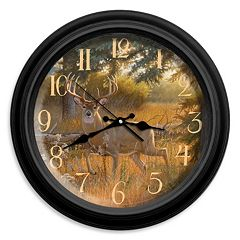 Reflective Art ''A Grand Entrance'' Wall Clock