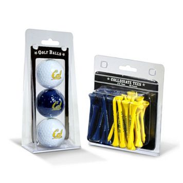 Team Golf Cal Golden Bears Golf Ball & Tees Set