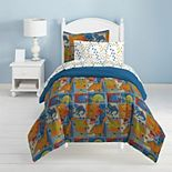Dream Factory Dino Blocks Bed Set