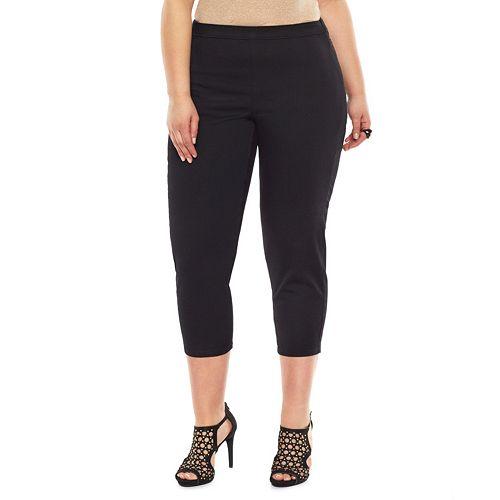 Plus Size Jennifer Lopez Crop Jeggings