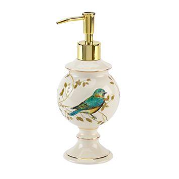 Avanti Gilded Birds Lotion Pump