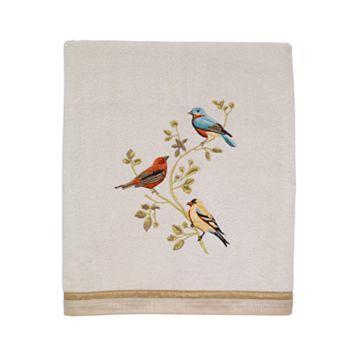 Avanti Gilded Birds Bath Towel