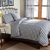m.style Classic Check 3-pc. Duvet Cover Set - King